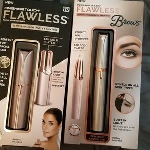 Finishing Touch Flawless Facial Hair Remover, Brow